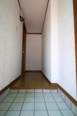 【玄関】西谷コーポ