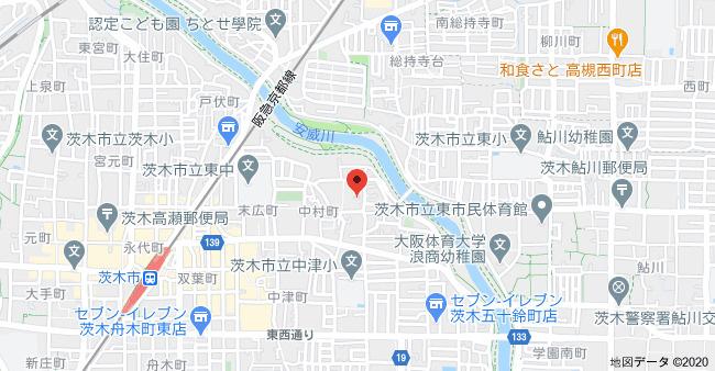 【地図】フォアール中村町