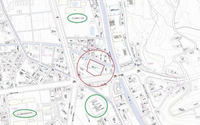 【地図】アルファステイツ倉敷中央