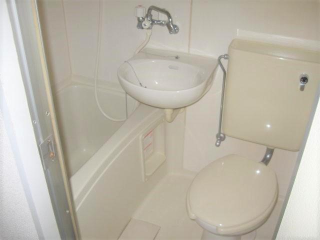 【浴室】フローラハイツ千代崎
