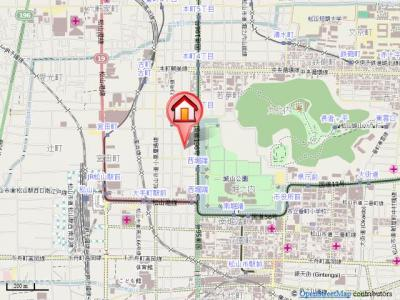 【地図】フェニックス西堀端