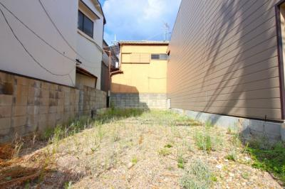 【外観】伏見区桃山南大島町 注文建築 建築条件なし 土地