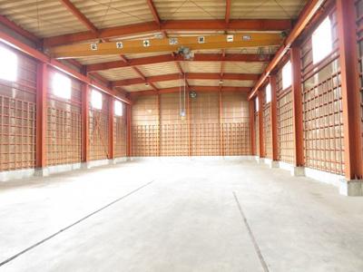 【内装】新潟市南区マーケットシティ白根隣接 売倉庫