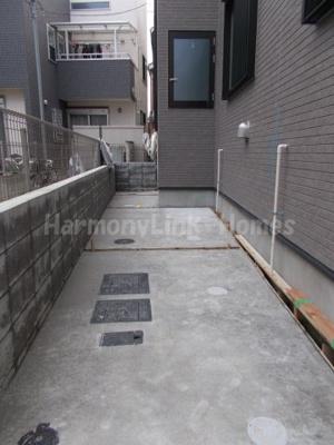 ハーモニーテラス足立Ⅶの駐輪スペース