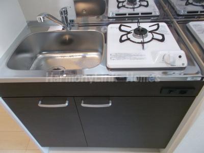 ハーモニーテラス足立Ⅶのお料理しやすいキッチンです