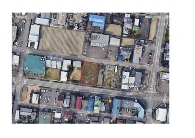 【地図】徳島市北沖洲3丁目土地No.48