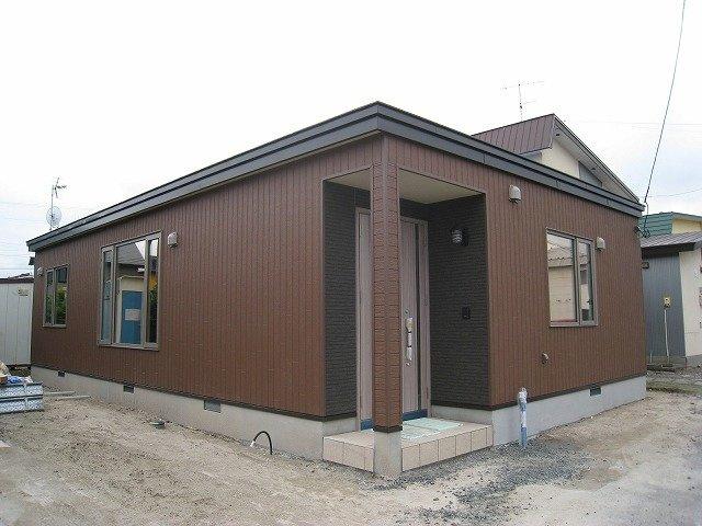 【外観】北見市西富町3丁目123番32 新築戸建住宅