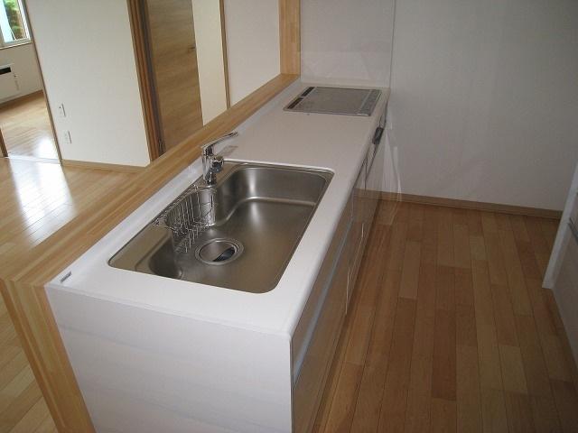 【キッチン】北見市西富町3丁目123番32 新築戸建住宅