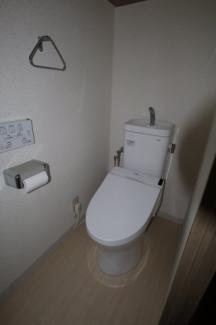 ゆとりのあるトイレ