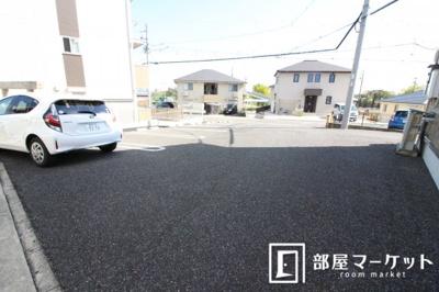 【駐車場】ボヌールハウス