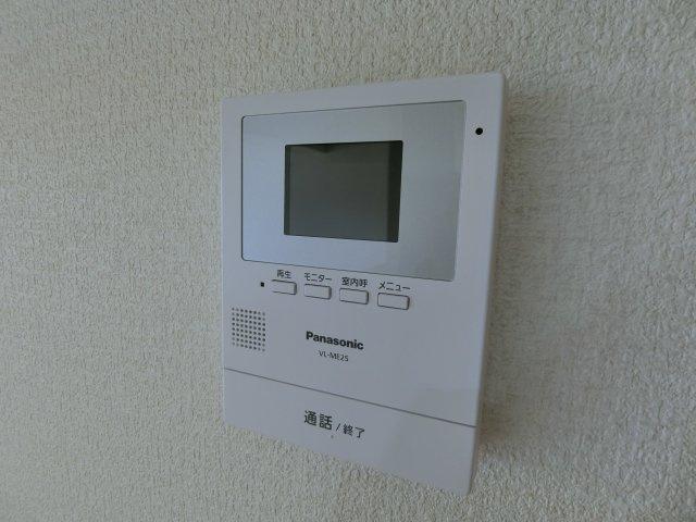 TVモニター付きインターホンで暮らしの安心・安全を守ります。