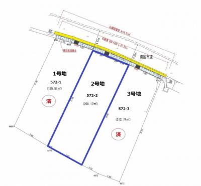 【区画図】南国市福船