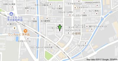 【地図】ラフォーレ