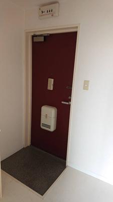 【玄関】メモリアルタウンC棟