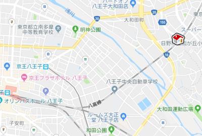 【地図】レオパレスヴァン(28551-208)