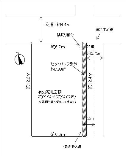 【土地図】東中延1丁目売地