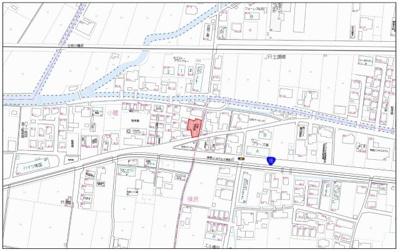 【地図】南国市小籠 北村パーキング