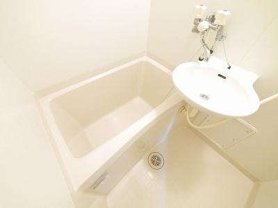 【浴室】レオパレスフローレス州見台