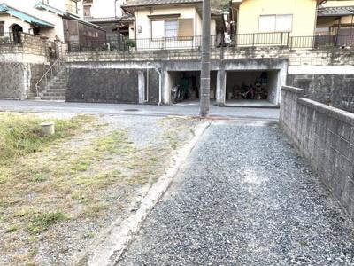 【前面道路含む現地写真】相生市若狭野町入野/売土地