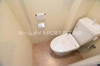【トイレ】サンフォーリーフタウン桜ノ宮サンメゾンコート