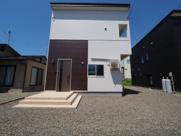 大仙市大曲上栄町 新築戸建て住宅 3LDK 大曲小学校まで徒歩8分の画像