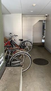 自転車置場は月額300円でご利用いただけます