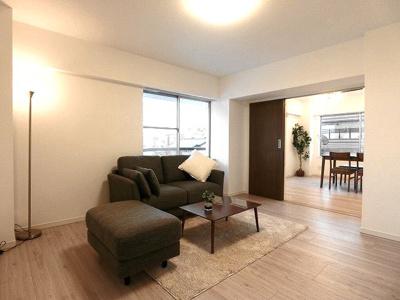居室はすべて収納付きで約6帖以上の広さがあります。