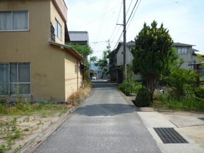 【前面道路含む現地写真】駅家町倉光売土地