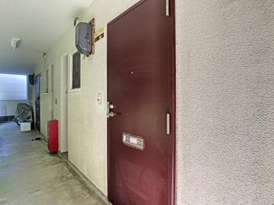 【玄関】第2フラワーハイツ