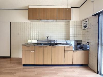 【キッチン】第2フラワーハイツ