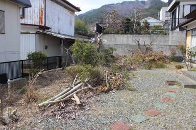 【庭】大船渡市大船渡町字上山・中古住宅