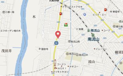 【地図】I-villa 南流山(アイヴィラミナミナガレヤマ)