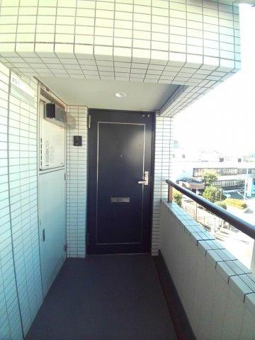 【玄関】グランドムール五反野