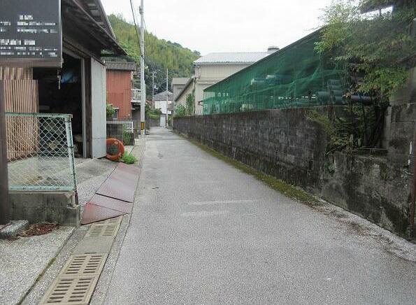 【前面道路含む現地写真】五台山