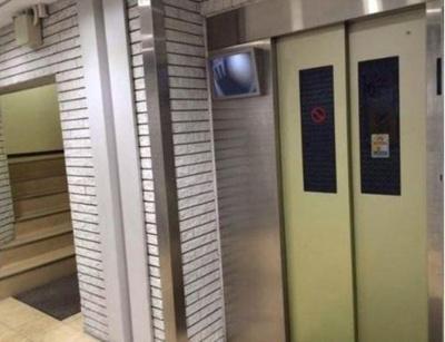エレベーター付きで、上層階でも昇降楽々です。