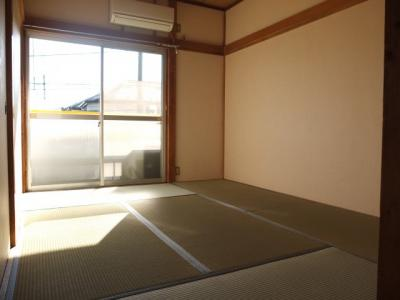 陽当たりの良い和室
