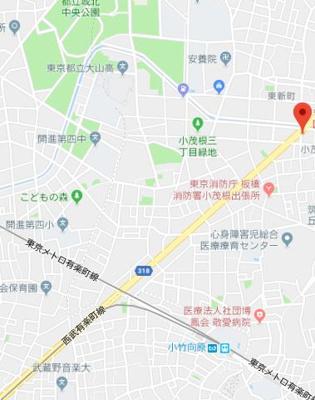 【地図】B CITY APARTMENT IKEBUKURO WEST