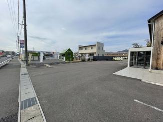 【駐車場】55433 岐阜市下土居事業用(借地権付建物)