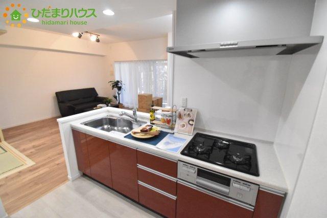 【キッチン】西区宝来 中古マンション ブリリアンコートさいたま指扇