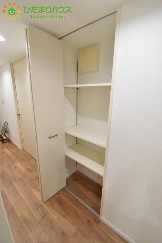 空間を一切無駄にしない設計で、お子様のおもちゃなどを収納することができ、すっきりと片付くお部屋を実現します。