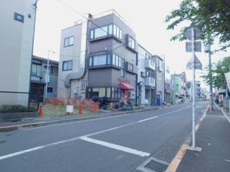 【前面道路含む現地写真】大田区萩中1丁目 建築条件付き土地