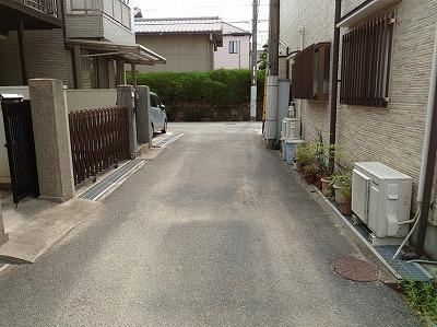 【前面道路含む現地写真】神戸市垂水区星陵台5丁目 中古戸建