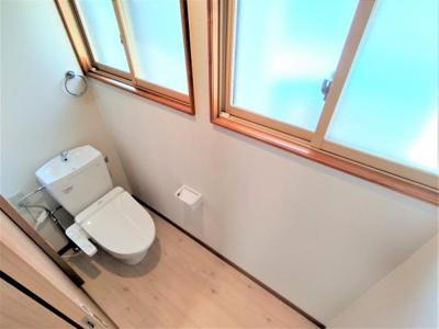 【トイレ】能代市中和1丁目・中古住宅 リフォーム済