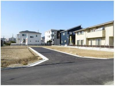 【外観】茅ヶ崎市今宿 売地 全6区画 B区画