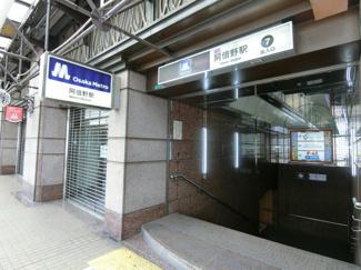 谷町線「阿倍野駅」徒歩2分の好立地です! 雨に濡れずにそのまま電車に乗れます♪