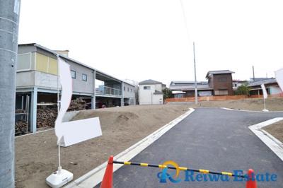 【前面道路含む現地写真】売地 茅ヶ崎市美住町