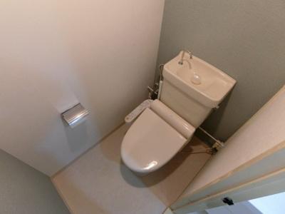 【トイレ】ホワイト二幸マンション