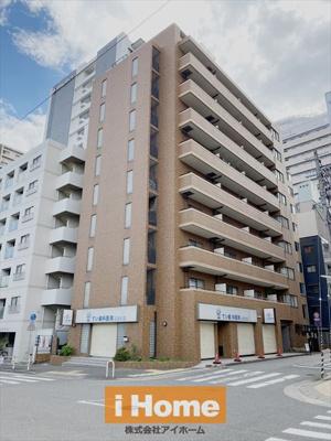 JR三ノ宮駅まで徒歩10分! 生田川公園近くお散歩コースにオススメです! 春には桜並木をお部屋から見渡すことができますよ!