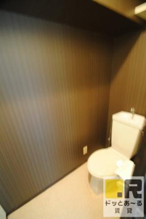 落ち着いた雰囲気のトイレ♪