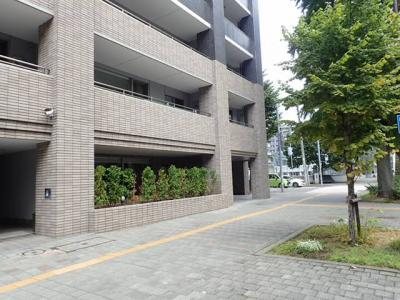 【外観】シティハウス資生館前